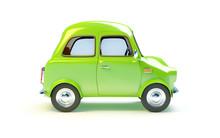 Small Retro Car Side