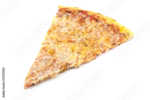 Fotografie, Obraz  Pizza Slice Plain