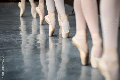 Valokuva  Legs dancers