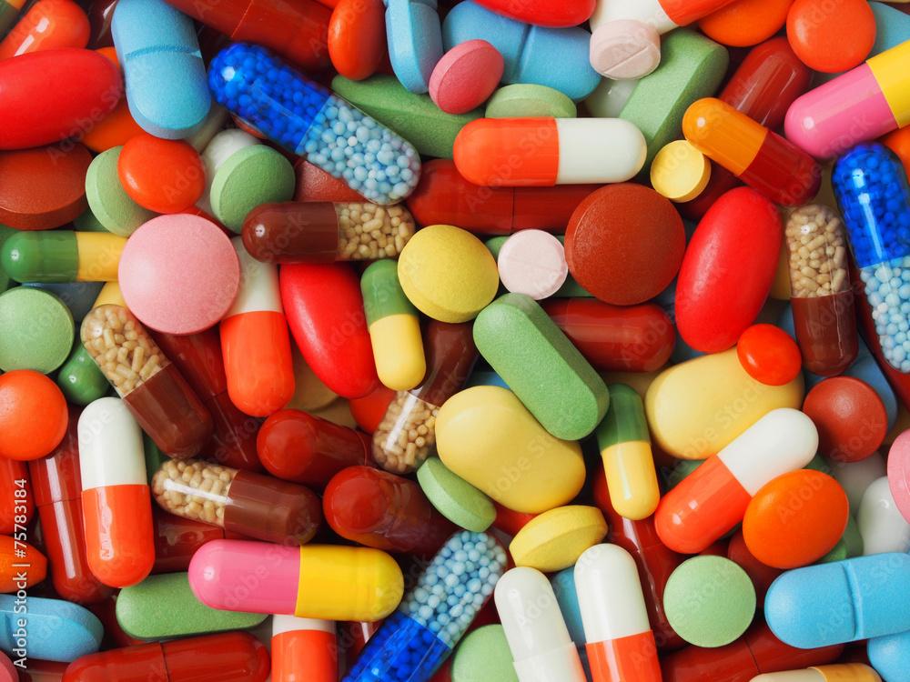 Fototapety, obrazy: Medicine background