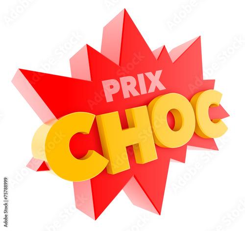 """Fotografía  """"Prix choc"""" vectoriel 1"""