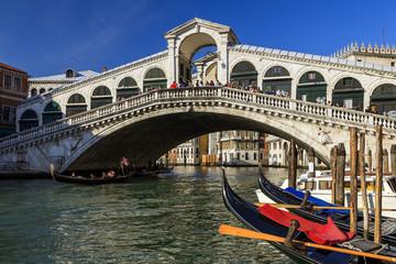 Fototapeta Krajobraz Ponte di Rialto Venezia.