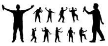 Singer Silhouettes