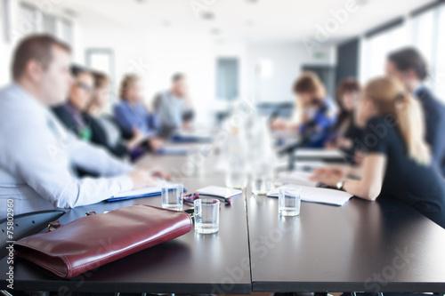 Obraz business meeting - fototapety do salonu