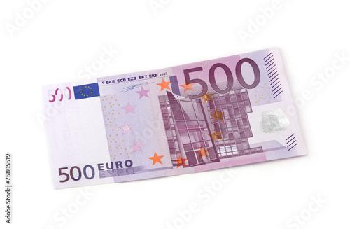 Poster  500 Euro Vorderseite