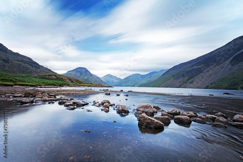 Wast Water, in Wasdale in the Lake District, Cumbria, England. фототапет