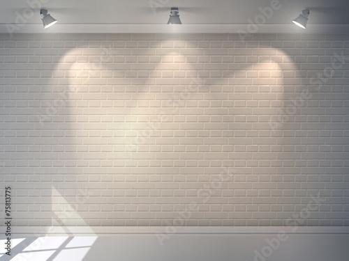 Fotografía  Brick Wall Realistic