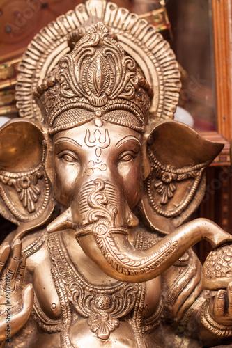 Photo  The Hindu god Ganesh