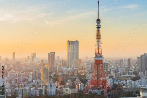 Poster Tokyo Tokyo Tower
