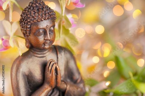 Fotografie, Obraz  Socha Buddhy