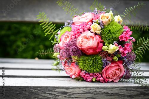 Fotografie, Obraz  schöner Blumenstrauß