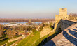 View on the Danube from Belgrade Fortress - Serbia