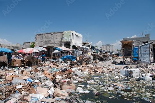 Wallpaper Mural Downtown Port-au-Prince, Haiti