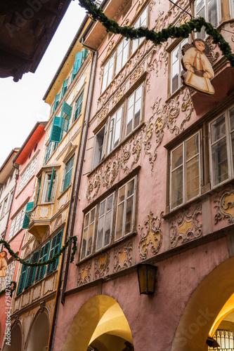 Obraz na plátně  Bolzano, Trentino Alto Adige, Italia
