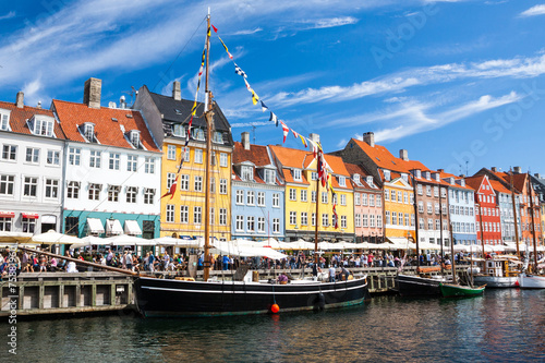 Photo  Nyhavn in Copenhagen, Denmark