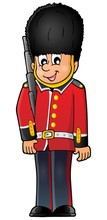 Happy Beefeater Guard