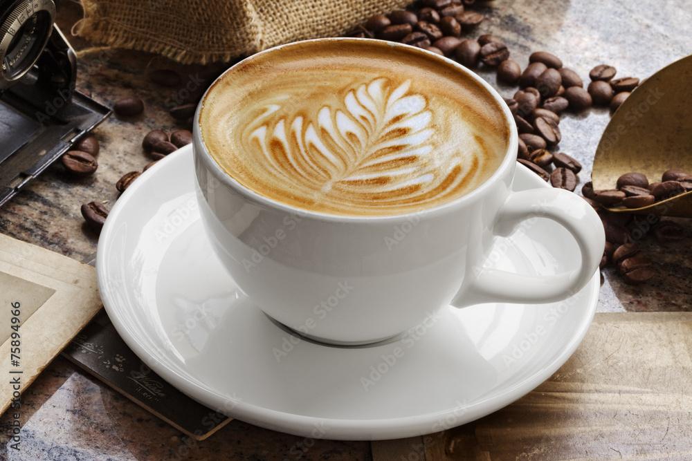 Fototapeta Caffe Latte