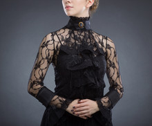 Fashion Image Young Woman In A...