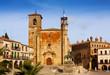Day view of Plaza Mayor at Trujillo