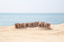 Tuesday Word On Sea Beach