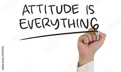 Attitude is Everything Fototapet