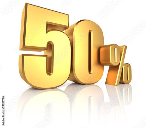 Valokuva  Gold 50 Percent