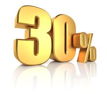 Gold 30 Percent