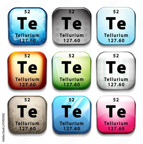 Poster  Tellurium