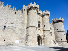 Medieval Castle Of Rhodes Isla...