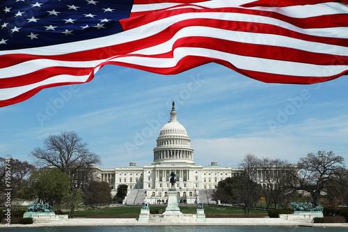 Photo  Capitol Building U.S. Congress