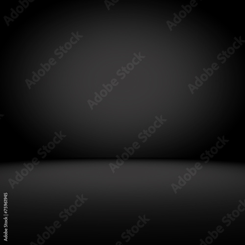 Fotografia  Great Black gradient background