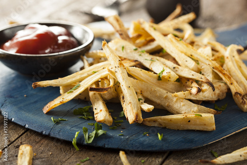 Homemade Parsley Root French Fries Poster
