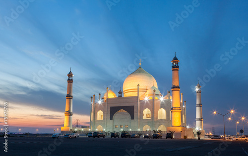 Poster Moyen-Orient Siddiqa Fatima Zahra Mosque in Kuwait, Middle East