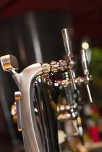 Beer Pumps In A Row