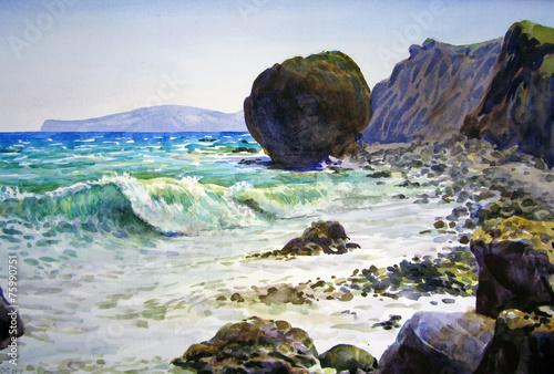 morze-u-wybrzezy-skalistych