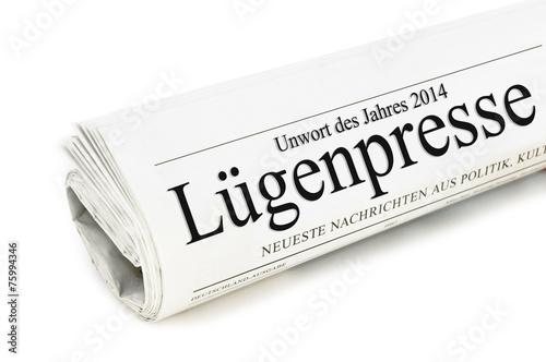 Photo  Unwort des Jahres 2014 Lügenpresse