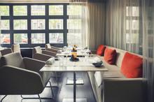 Empty Dutch Restaurant