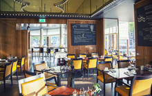 Empty Restaurant  In Amsterdam...