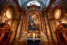 Interior Of St. Charles' Church