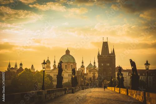 Fotobehang Prague ,Charles bridge