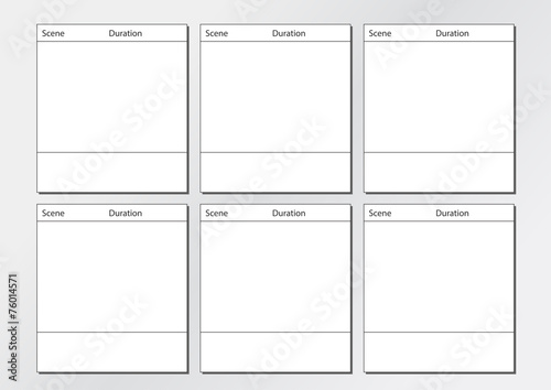 Tv Commercial Storyboard Template X6