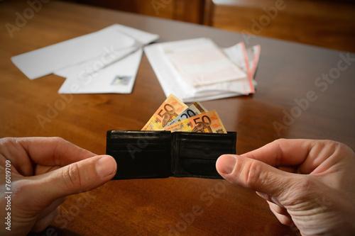 Fotografie, Obraz  piccolo portafoglio...