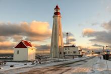 Lighthouse Pointe-au-Pere, Rimouski, Quebec