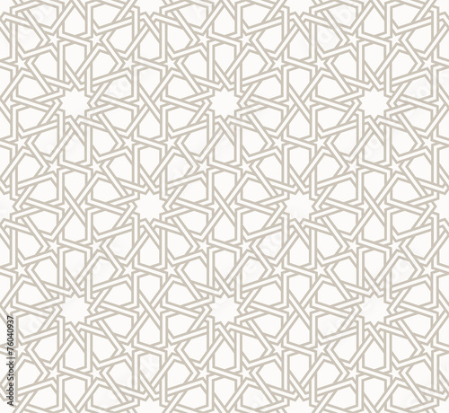 Canvastavla  Tangled modern pattern, based on traditional oriental patterns.