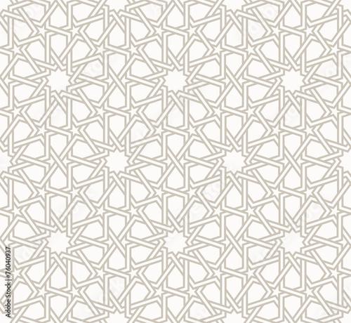 Canvastavla Tangled modern pattern, based on traditional oriental patterns.