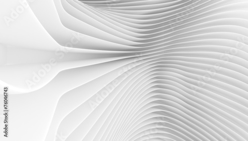 Tuinposter Abstract wave line Background
