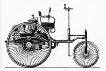 Benz Patent-Motorwagen, 1886