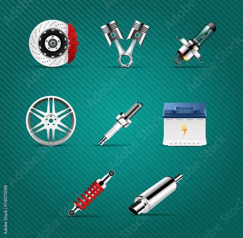 Fotografía  Car parts