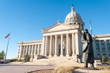 State Capitol In Oklahoma City...
