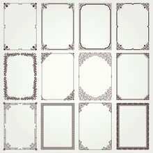 Decorative Frames And Borders ...